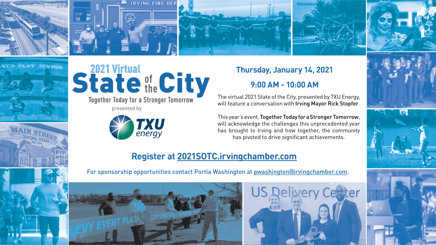 2021 Virtual State of the City Flyer